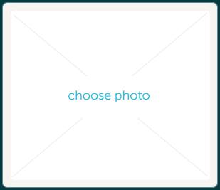 Choose photo button