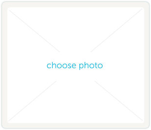 Choose photo button