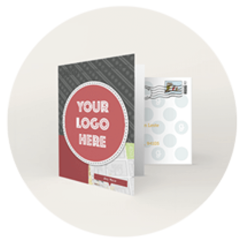 Your logo here greeting card