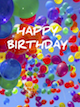 Custom front birthday balloons small