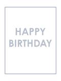 Custom front birthday wave medium