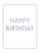 Custom front birthday wave small