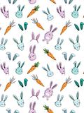 Custom front bunnies and carrots medium