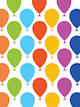 Custom front colorful balloons small