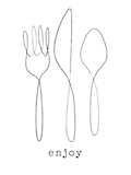 Custom front enjoy a meal medium