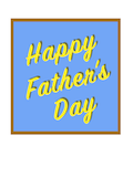 Custom front fathers day bright medium