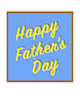Custom front fathers day bright small